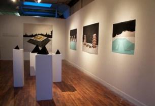 Installation View Katie Murken: Fight Well Against the Future