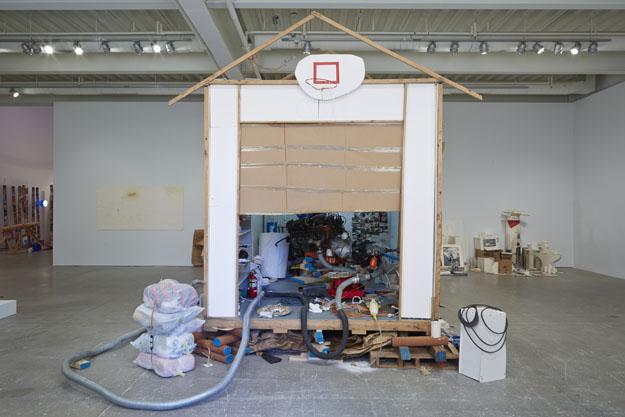 Jason Rhoades Garage Renovation New York (CHERRY Makita) 2013 Installation view Institute of Contemporary Art University of Pennsylvania Photo: Aaron Igler/Greenhouse Media
