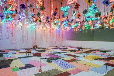 Jason Rhoades from My Madinah: In pursuit of my ermitage... 2004/2013 Installation view Institute of Contemporary Art University of Pennsylvania Photo: Aaron Igler/Greenhouse Media