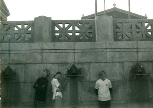 Dave, Ed, & Wade at PMA spring of '88