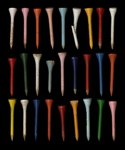 Johanna Inman, 27 Golf Tees, archival ink jet print, courtesy of CFEVA