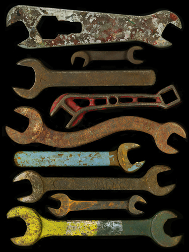 Johanna Inman, 9 Wrenches, archival ink jet print, courtesy of CFEVA