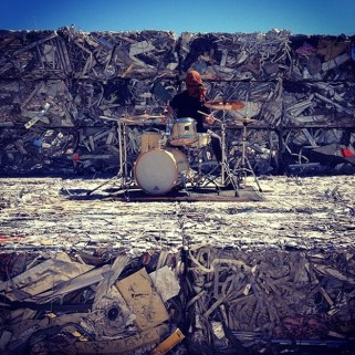 From Waste Music Festival, collaboration between MAry Ellen Carroll and Billy Dufala