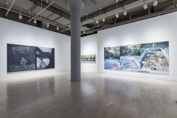 Installation view, Jennifer Bartlett: In the Garden,, photo by Joseph Hu