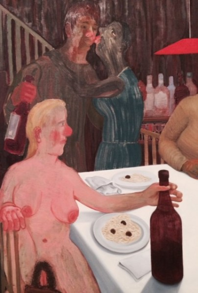 Detail, The Sunday Night Dinner, 2009