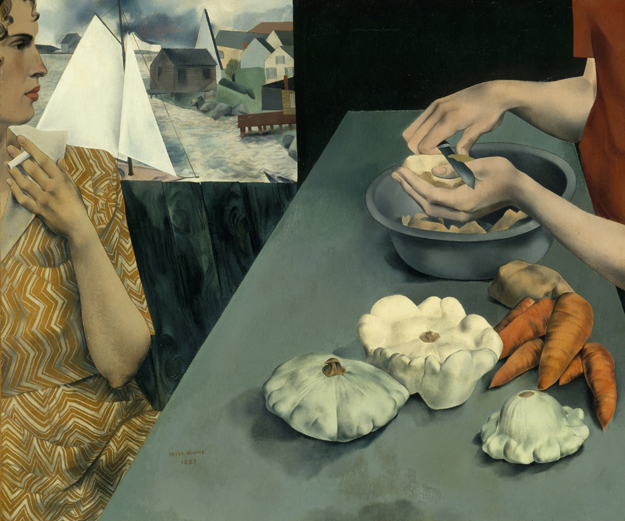 Peter Blume, Vegetable Dinner, 1927 Smithsonian American Art Museum, Washington, D.C. Art © The Educational Alliance, Inc./Estate of Peter Blume/Licensed by VAGA, New York