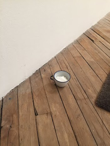 (Offering), 2015 salt, readymade cup 3.5 x 3 x 2 inches Not For Sale