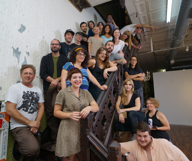 The Space 1026 family. Photo courtesy of Space 1026