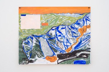 Jocko Weyland, Squaw Valley (Orange Sky), 2013. Courtesy Kerry Schuss and Fleisher/Ollman Gallery.