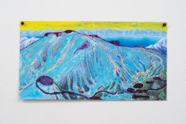 Jocko Weyland, Mt. Rose (Yellow Sky), 2013. Courtesy Kerry Schuss and Fleisher/Ollman Gallery.