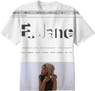E. Jane, t-shirt, 2015