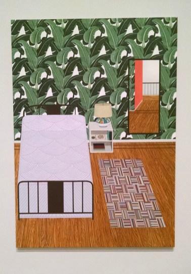 Bedroom (Rubaiyat of Omar Khayyam), oil on canvas, 2015.