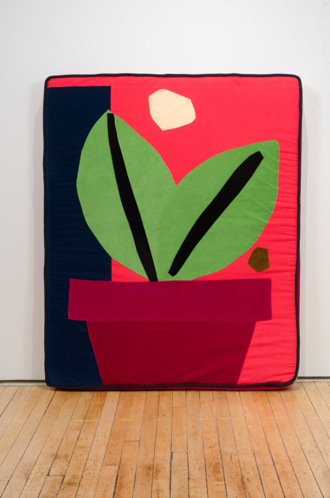 Chris Johanson and Johanna Jackson, Plant, 2015, Fleisher/Ollman Gallery. Image: Claire Iltis.