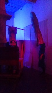 Rehearsal in installation space, I Lost My Head