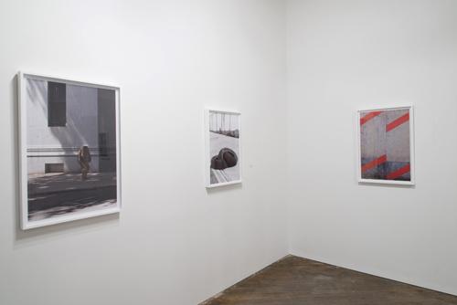 Installation view, Stefan Abrams, Borderline, at Marginal Utility. Image: Stefan Abrams.