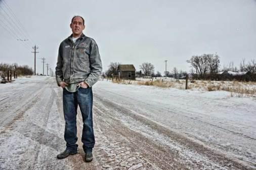 Kyle Cassidy, Ken- North Dakota,digital print.