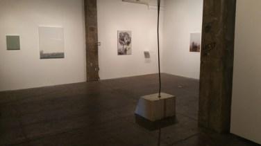 BRICK MOON installation view at FJORD. Image courtesy of Elisa Gabor.