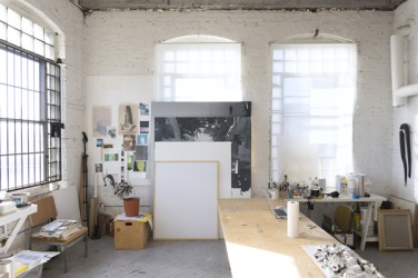 Michael's StudioImage courtesy of The Artist