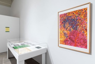 Installation view, The Freedom Principle: Experiments in Art and Music, 1965 to Now, Institute of Contemporary Art, University of Pennsylvania. Photo: Constance Mensh.