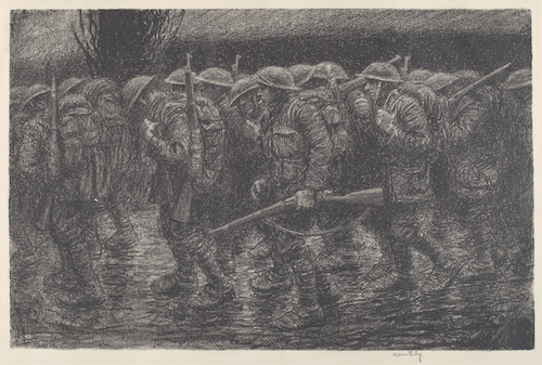 Kerr Eby (1889–1946) Where Do We Go?, c. 1919 Lithograph, 18 × 23 in. National Gallery of Art, Washington, Reba and Dave Williams Collection, Gift of Reba and Dave Williams, 2008.115.1582