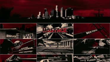 Hostage Title Sequence