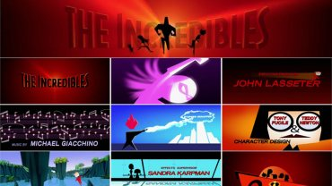 The Incredibles Title Sequence