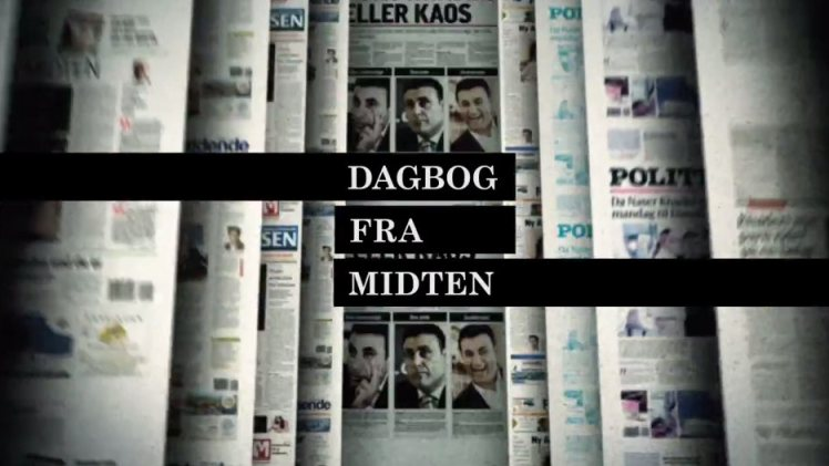 Dagbog fra Midten Title Sequence by Benny Box