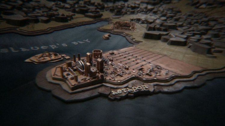 Games of Thrones Title Sequence by Elastic