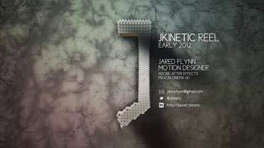 JKINETIC Motion Design Reel