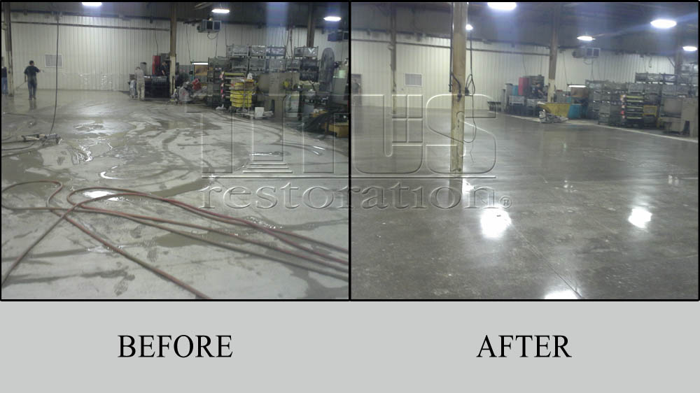 Before And After Transformations Of Industrial Polished