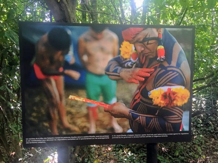 Visite du Festival photo de La Gacilly 2020