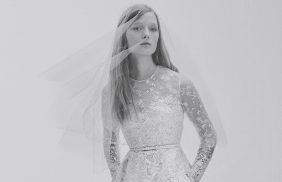 Elie Saab, debutto al top per la prima Bridal Collection