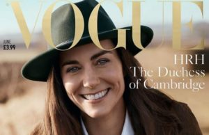 Vogue for Kate Middleton