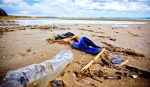 Rifiuti in spiaggia