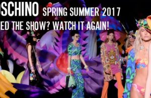 Moschino Resort 2017