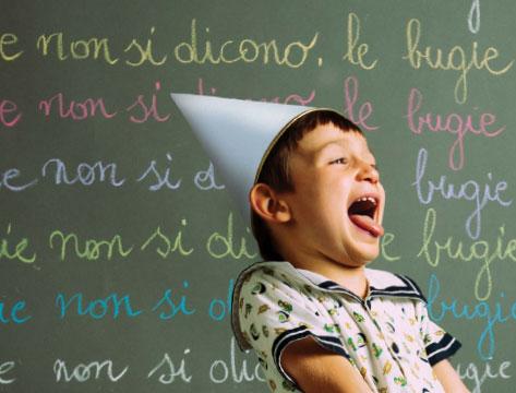 Bugie dei bambini, punire non serve!