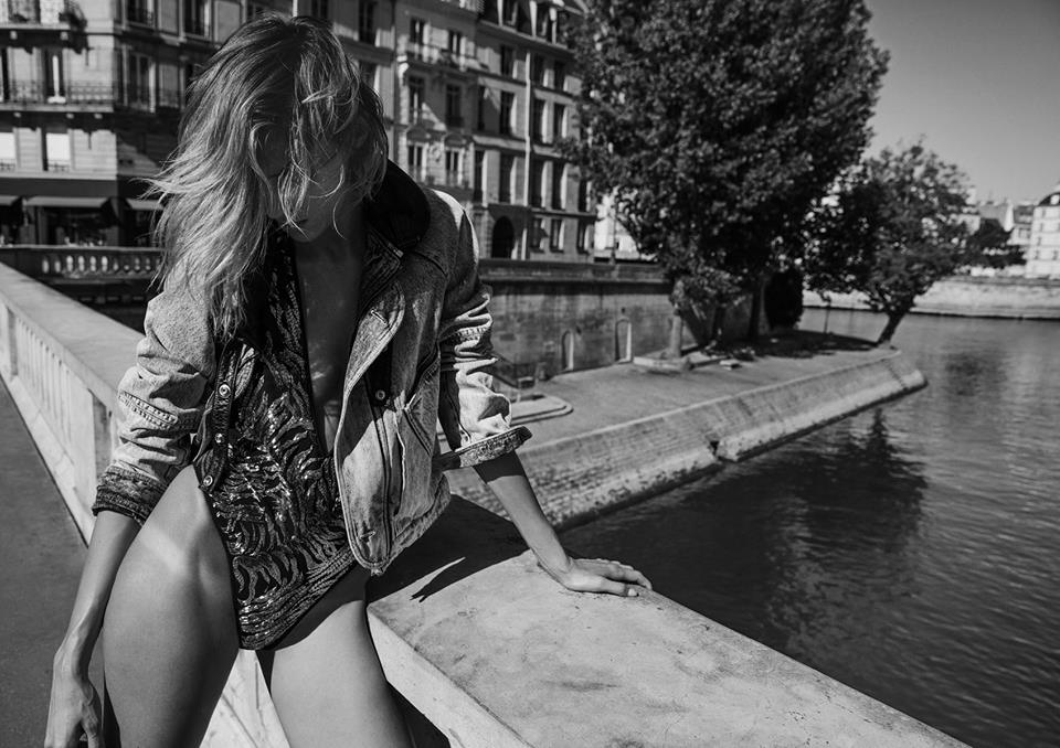 Paris Fahion Week, Anthony Vaccarello debutto easy dark per Saint Laurent