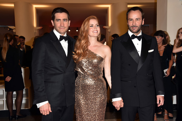 Jake Gyllenhaal, Amy Adams e Tom Ford