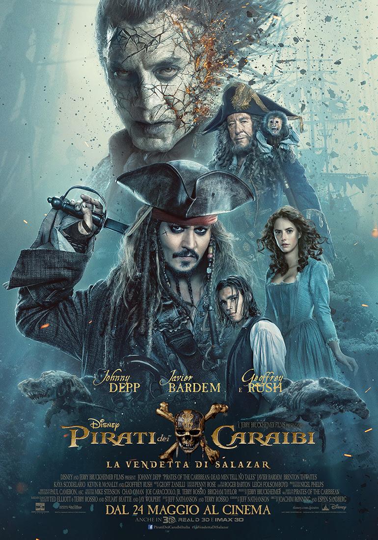 Pirati dei Caraibi – la Vendetta di Salazar: nuovo poster e trailer!