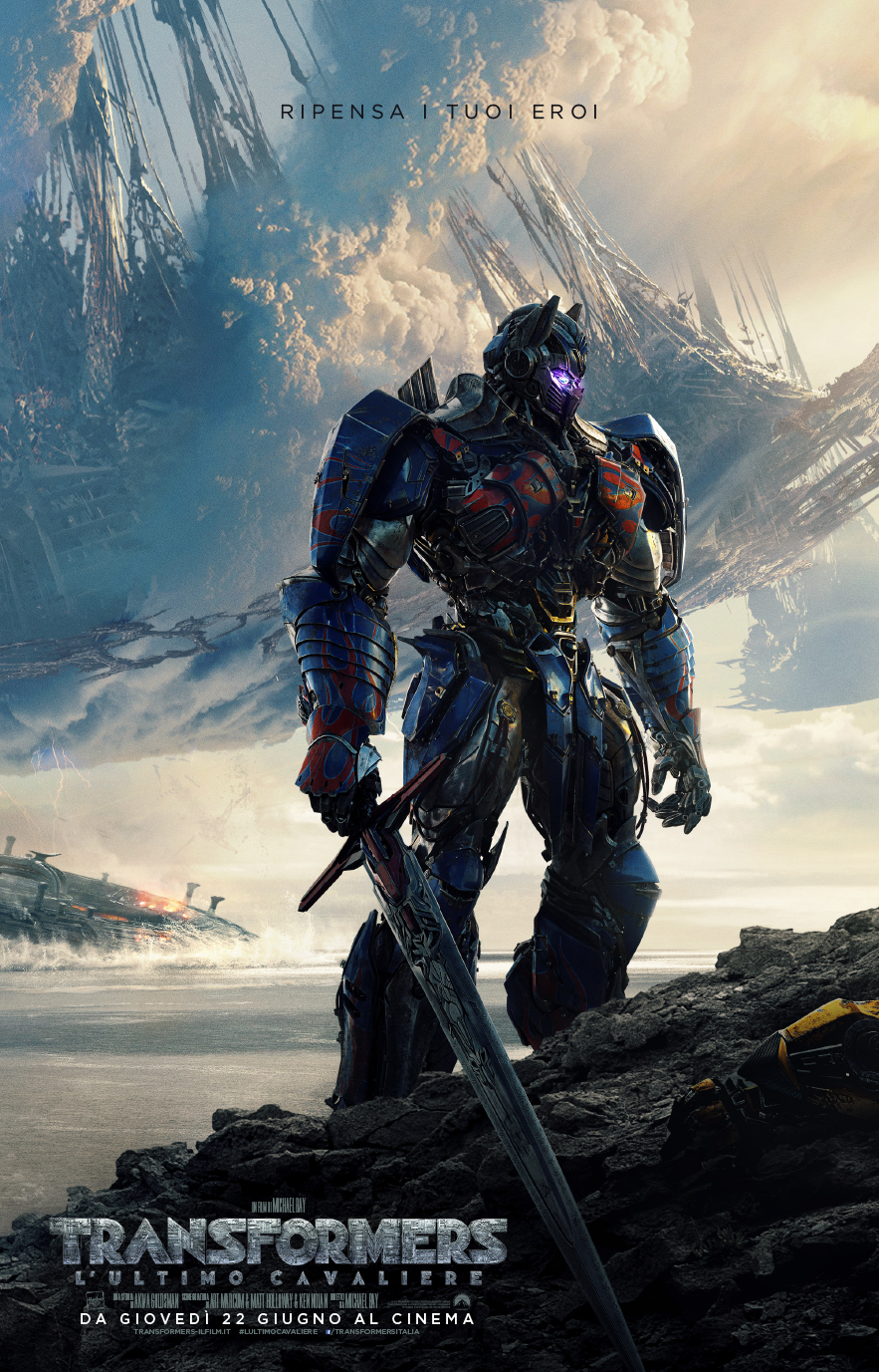 Transformers – L'ultimo cavaliere: dal film di Michael Bay ecco nuovo trailer italiano
