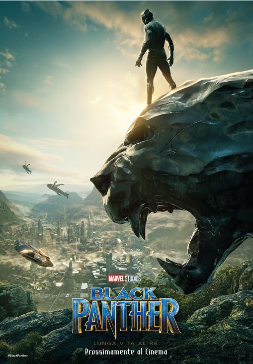 Black Panther: disponibile il nuovo poster del live action Marvel!