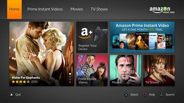 Amazon Prime Video: l'app arriva su Playstation 4 e Playstation 3