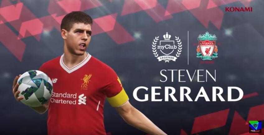 PES 2018: Nuove Leggende del Liverpool F.C.