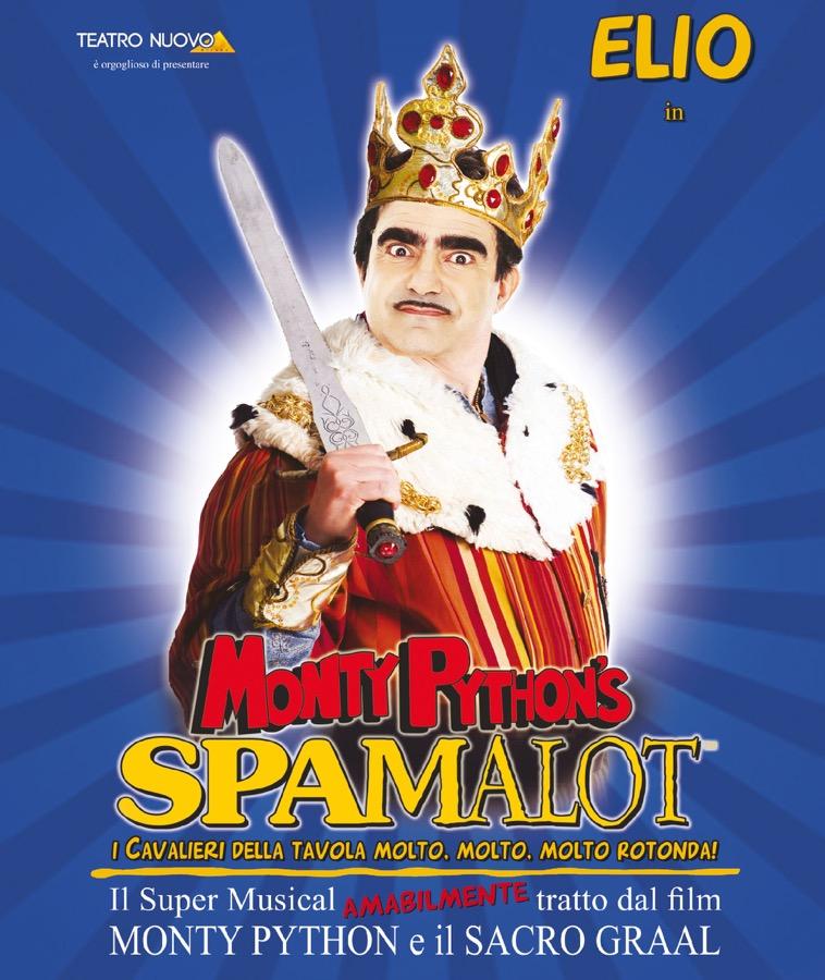 Elio nel musical Spamalot