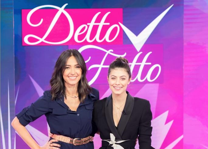Detto fatto, ospite speciale Alessandra Mastronardi