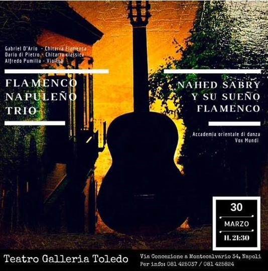 Flamenco Napuleno a Galleria Toledo Locandina