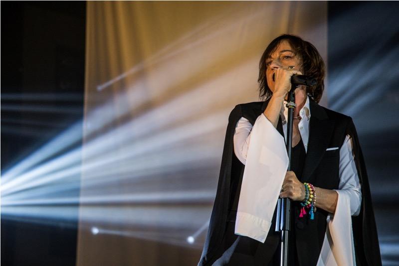 Gianna Nannini in tour foto di Alessandro Morana