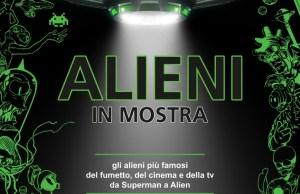 Alieni in mostra Wow Spazio fumetto
