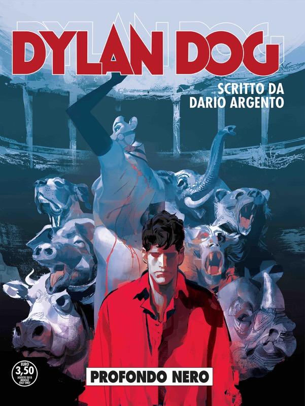 """""""Profondo Nero"""", il trailer del numero speciale di Dylan Dog a cura di Dario Argento"""