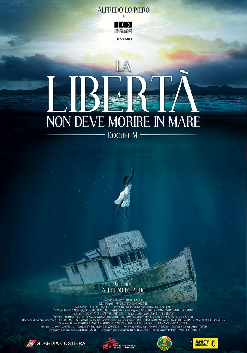 La libertà non deve morire in mare, al cinema dal 27 settembre